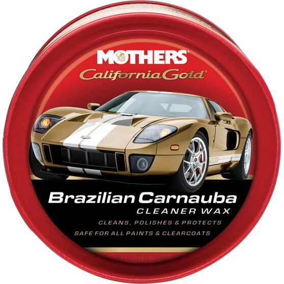 Mothers California Gold Brazilian Carnauba Cleaner Paste Wax 340g, , scanz_hi-res