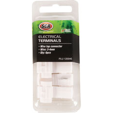 SCA Electrical Terminals - Wire Tap Connector, 3-4mm, 6 Pack, , scanz_hi-res