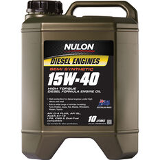 Nulon Semi Synthetic High Torque Diesel Engine Oil 15W-40 10 Litre, , scanz_hi-res