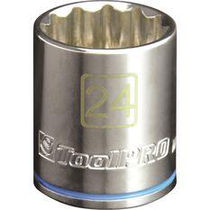 ToolPro Single Socket - 1 / 2 inch Drive, 24mm, , scanz_hi-res