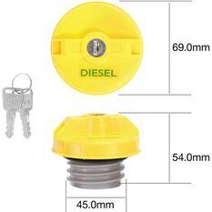 Tridon Locking Fuel Cap TFL234D, , scanz_hi-res