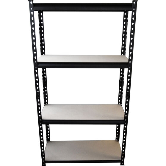 SCA 4 Shelf Unit - Powder Coated, 150kg, , scanz_hi-res