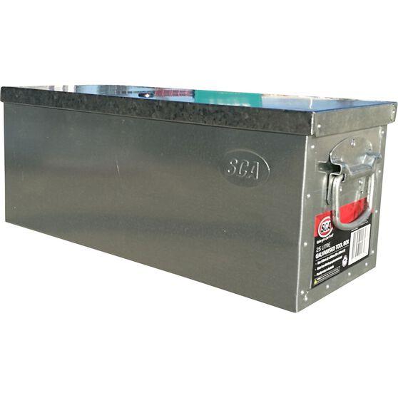 Tool Box - Galvanised, 25 Litre, , scanz_hi-res