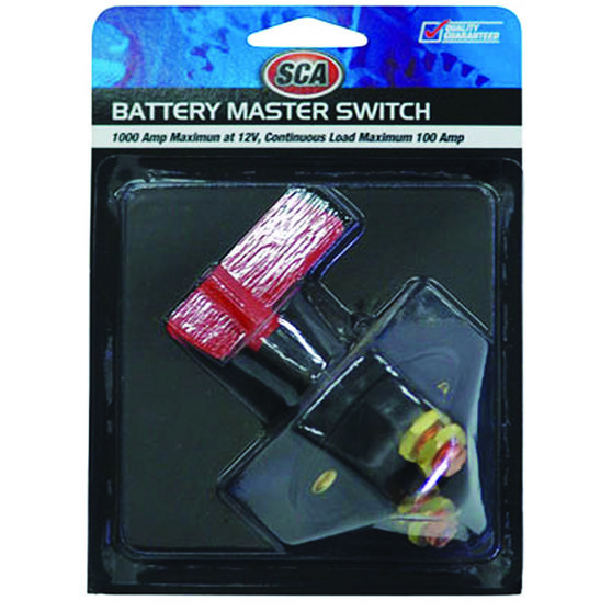 SCA Battery Master Switch - 12 Volt, 100 AMP, , scanz_hi-res