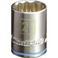 "ToolPRO Single Socket 1/2"" Drive 21mm, , scanz_hi-res"