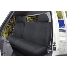 SCA Canvas Ute Seat Covers - Charcoal/Grey Size 301 Front Bucket and Bench (w/out cut out), , scanz_hi-res