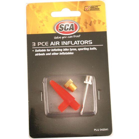 SCA Inflator Air Adaptors - 3 Piece, , scanz_hi-res