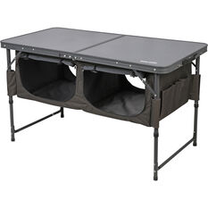 Ridge Ryder Folding Table - with Storage, , scanz_hi-res