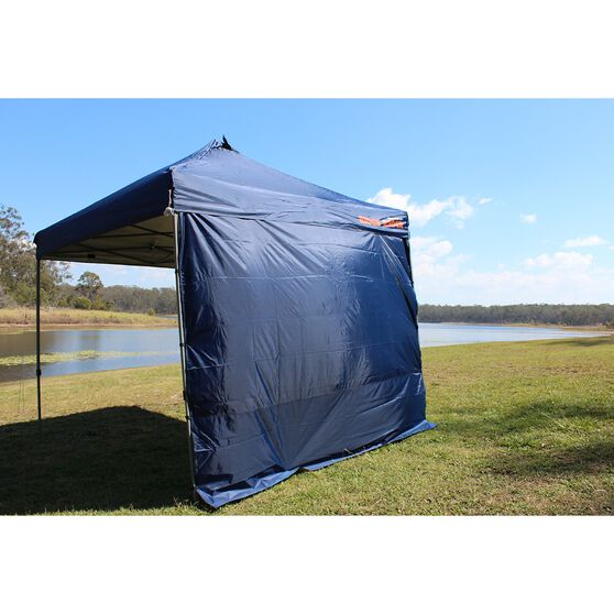 Ridge Ryder Deluxe Gazebo Side Wall - Blue, 3m, , scanz_hi-res