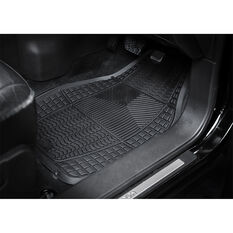 Armor All Car Floor Mats Rubber Black Set of 4, , scanz_hi-res