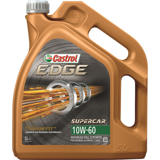 Castrol Edge Engine Oil - 10W-60 5 Litre, , scanz_hi-res