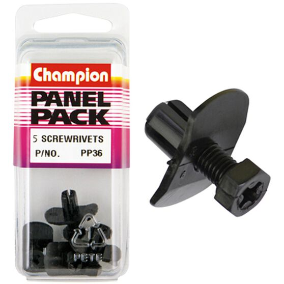 Champion Screw Rivets - PP36, Panel Pack, , scanz_hi-res