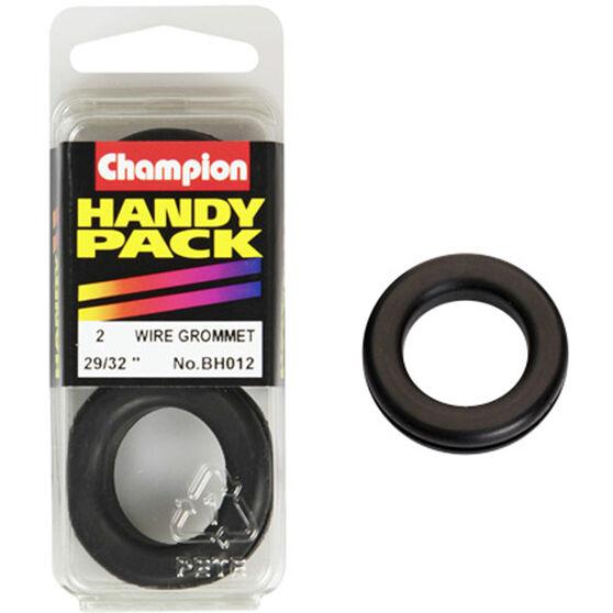 Champion Wiring Grommet - 29 / 32inch, BH012, Handy Pack, , scanz_hi-res