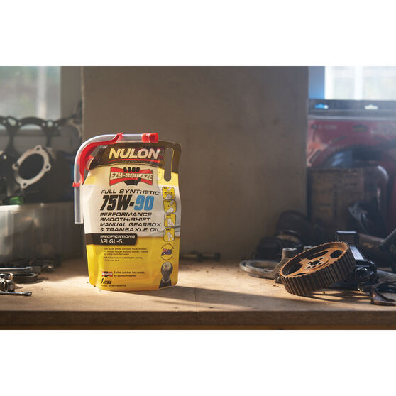 NULON EZY-SQUEEZE Performance Smooth Shift Manual Gearbox & Transaxle Oil - 75W-90, 1 Litre, , scanz_hi-res