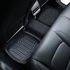 Ridge Ryder Deep Dish Car Floor Mats - Black Rear Pair, , scanz_hi-res