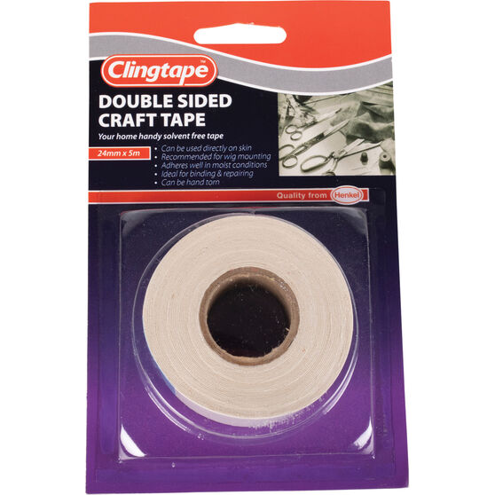 Clingtape Double Sided Tape - Craft, 24mm x 5m, , scanz_hi-res
