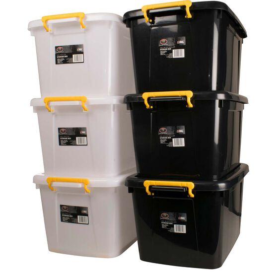 SCA Storage Roller Box - 45 Litre, Black, , scanz_hi-res