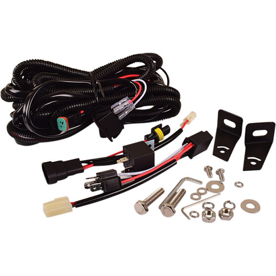 """Driving Light Combo Kit - 9"""" Driving Lights, 21"""" Driving Light, LED, with Harness, , scanz_hi-res"""
