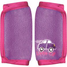 Little Car Seat Belt Buddies - Purple, Pair, , scanz_hi-res