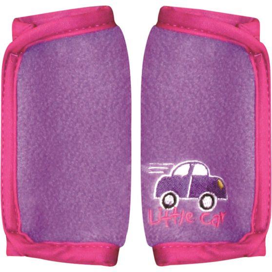 Little Car Seat Belt Buddies - Purple, Pair, , scanz_hi-res