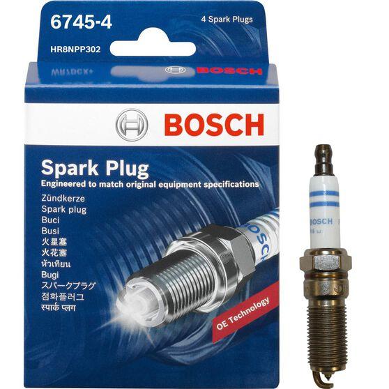 Bosch Spark Plug - 6745-4 , 4 Pack, , scanz_hi-res
