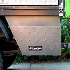ToolPRO Undertray Tool Box - Galvanised Steel, Left hand side, , scanz_hi-res