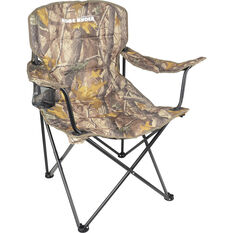 Ridge Ryder Camping Chair - Camo, 120kg, , scanz_hi-res