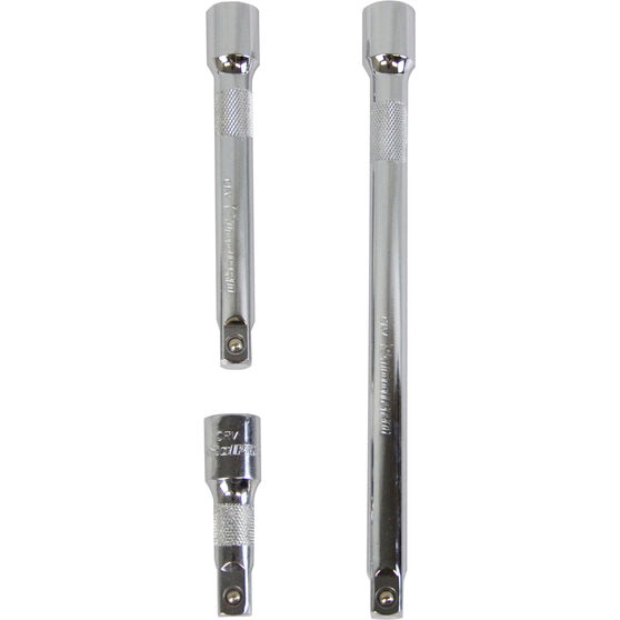 ToolPRO Extension Bar Set - 1 / 2 inch Drive, 3 Piece, , scanz_hi-res