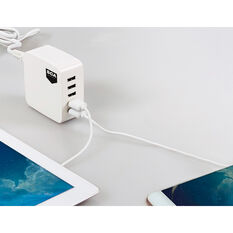SCA 5 Port USB Charging Station - 240V, , scanz_hi-res