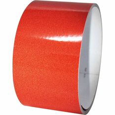 Reflective Tape - 25MM x 1M, Red, , scanz_hi-res