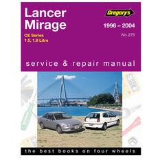 Gregory's Car Manual For Mitsubishi Lancer / Mirage 1996-2004 - 275, , scanz_hi-res