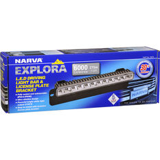 "Narva Explora LED Driving Light Bar 14"" with Bracket, , scanz_hi-res"