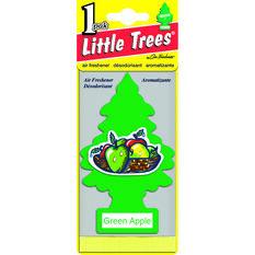 Little Trees Air Freshener - Green Apple, 1 Pack, , scanz_hi-res