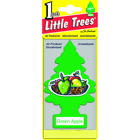 Little Trees Air Freshener - Green Apple, 1 Pack, , scanz_hi-res