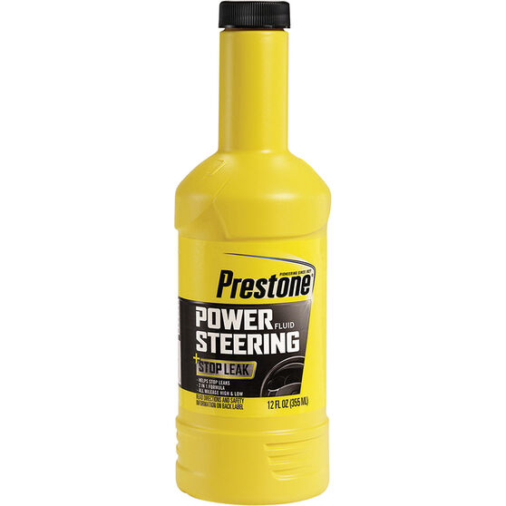 Prestone Power Steering Fluid with Stop Leak - 355mL, , scanz_hi-res