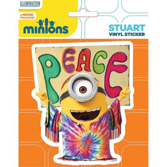 Hot Stuff Sticker - Minions Peace, Vinyl, , scanz_hi-res