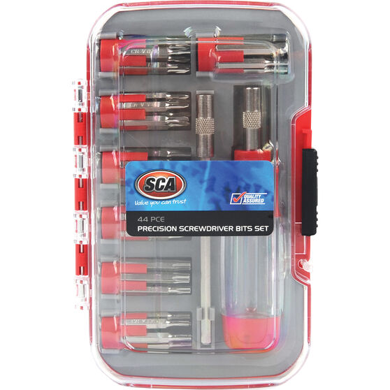 SCA Screwdriver Set - Precision, 44 Piece, , scanz_hi-res
