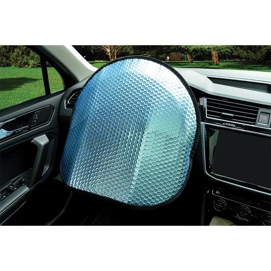 SCA Matte Blue Steering Wheel Shade - Matte Blue, , scanz_hi-res