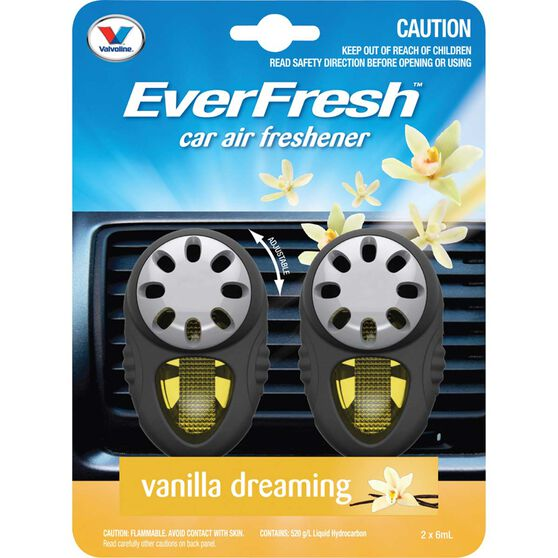 Everfresh Air Fresheners, Vanilla - 2 Pack, , scanz_hi-res