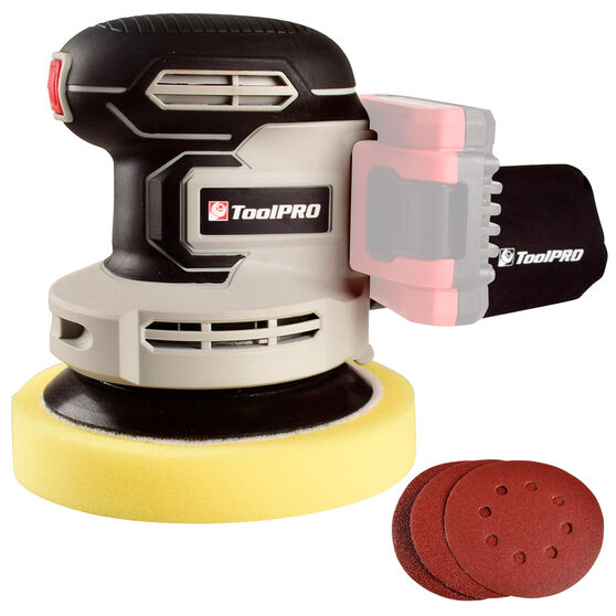ToolPRO 2 in 1 Rotary Polisher and Sander Skin 18V, , scanz_hi-res