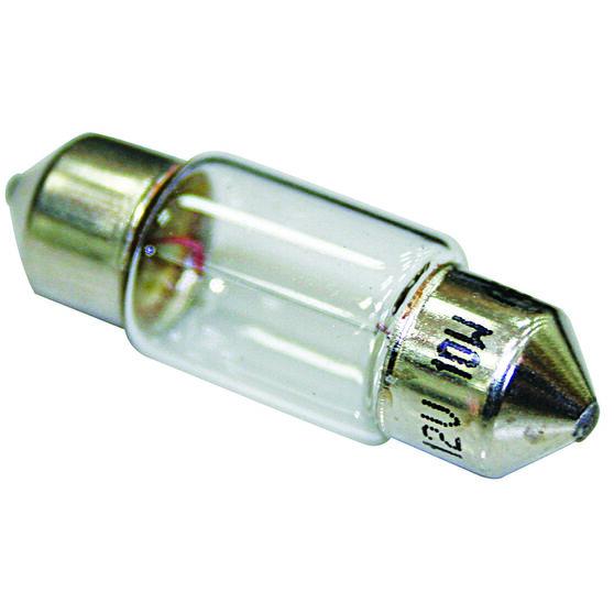 SCA Festoon Bulb - 12V, 10W, 10 x 31mm, , scanz_hi-res