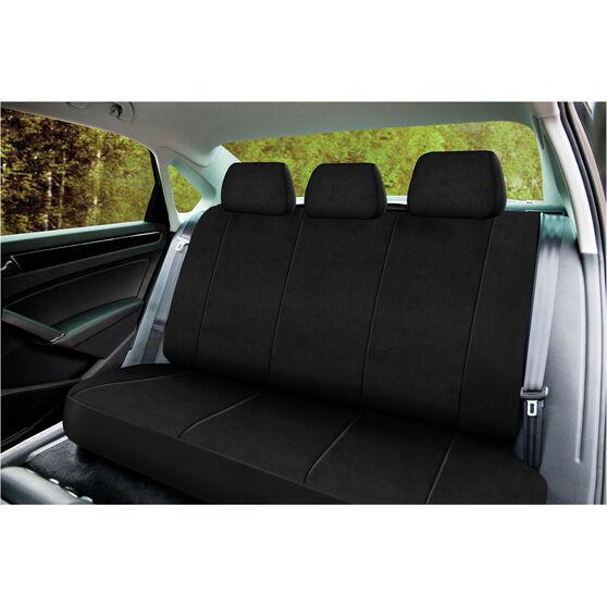 SCA Neoprene Seat Cover - Black Adjustable Headrests Rear Seat, , scanz_hi-res