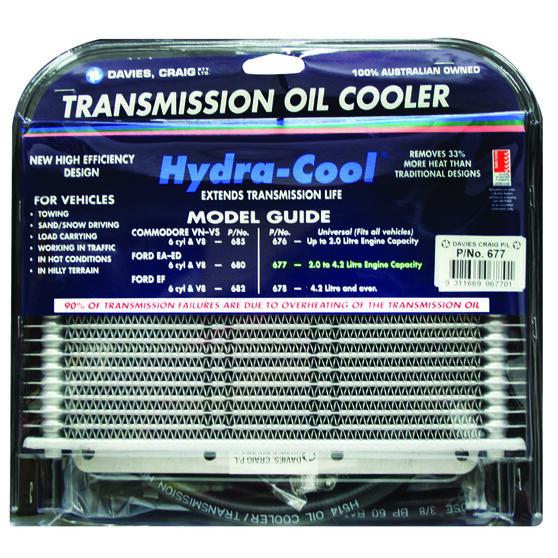 Davies Craig Hydra-Cool Transmission Oil Cooler - Universal, 6 Cylinder, , scanz_hi-res