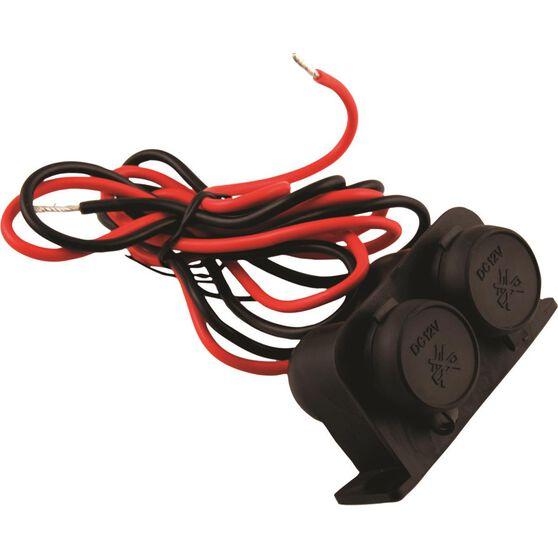 12/24V Dual Power Socket - Heavy Duty, , scanz_hi-res