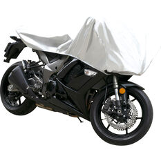CoverALL Motorcycle Half Cover - Essential Protection - Suits Medium Motorcycles, , scanz_hi-res