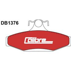 Calibre Disc Brake Pads DB1376CAL, , scanz_hi-res