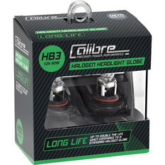 Calibre Long Life Headlight Globe HB3 12V 60W, , scanz_hi-res