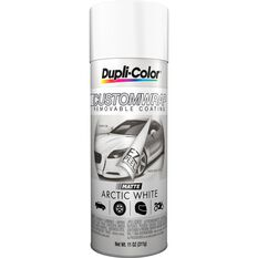 Dupli-Color Aerosol Paint Custom Wrap Matte Arctic White 311g, , scanz_hi-res
