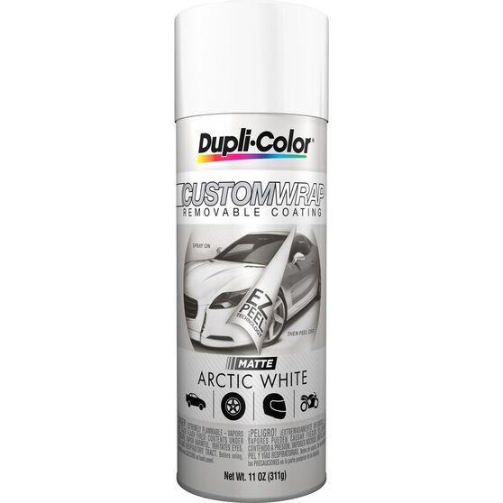 Dupli-Color Aerosol Paint Custom Wrap Matte Arctic White 311g, , scanz_hi-res