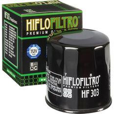 HifloFiltro Motorcycle Oil Filter HF303, , scanz_hi-res